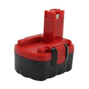 Kinon Batterie de rechange pour outil électrique 14.4V 1.5Ah pour Bosch tournevis sans fil 2 607 335 263 2 607 335 264 2 607 335 276 2 607 335 432 GDS 14.4V GHO 14.4V PSB 14.4V PSR 14.4V - Publicité