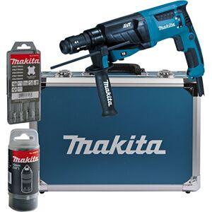 Makita HR26311FT13J Perforateur-burinateur pour SDS-PLUS 26mm dans un coffret en aluminium, hr2631ft13 - Publicité