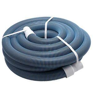 vhbw Tuyau Flexible pour Piscine raccord 38mm 11m pour Skimmer, aspirateur, Filtre stabilisé UV, résistant au Chlore - Publicité