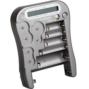 kraftmax Testeur de batterie universel avec écran LCD -MW333/LX5900 - Publicité