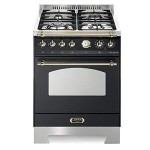 Lofra RNM66MFT/C Cuisinire Noir Gaz A Fours et cuisinires (Cuisinire, Noir, Rotatif, Acier inoxydable, Devant, lectronique) - Publicité