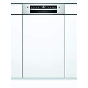 Bosch SPI2IKS10E Série 2 Lave-vaisselle partiellement intégré/A+ / 45 cm/acier inoxydable / 22 kWh/an / 9 MGD/séchage supplémentaire/panier  couverts Vario/Home Connect - Publicité