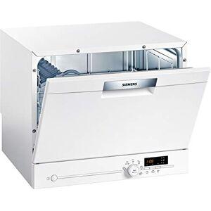 Siemens Lave-vaisselle compact SK26E22EU iQ300 A + 174 kWh/an 2240 l/an VarioSpeed Verre 40 AquaStop Blanc - Publicité