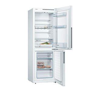 Bosch KGV33VI31 Série 4 Réfrigérateur-congélateur Efficacité énergétique A++ 176cm de hauteur Consommation de 219kWh/an Capacité du réfrigérateur: 194l Capacité du congélateur: 94l Inox anti-traces de doigt Refroidit de manière très économique Weiß