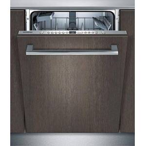 Siemens SX636X03JE iQ300 Lave-vaisselle entirement intégré/A++ / 262 kWh/an / 2660 L/an/VarioSpeed Plus/verre 40 programmes/systme de panier varioFlex/infoLight/bleu - Publicité