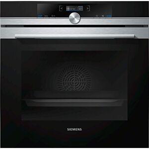 Siemens hb632gbs1Four électrique/71L/grandes surfaces/barbecue en acier inoxydable - Publicité