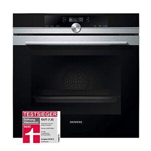 Siemens HB674GBS1 four fours (Moyenne, Electrique, A pyrolyse, Intégré, Noir, Acier inoxydable, Rotatif, toucher) - Publicité