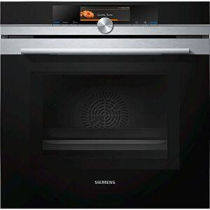 Siemens HM638GRS6 four fours (Moyenne, Electrique, 30-300 C, 357 x 392 x 480 mm, Intégré, Anthracite, Acier inoxydable, Titane) - Publicité