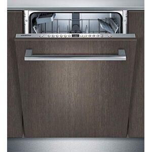 Siemens Lave-vaisselle entirement intégré SN636X03JE iQ300 / A++ / 262 kWh/an / 2660 l/an/VarioSpeed Plus/verre 40 programme/systme de panier VarioFlex/infoLight/bleu - Publicité