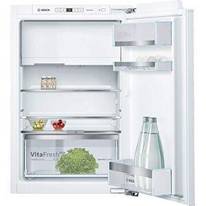 Bosch KIL22AFE0 Série 6 Réfrigérateur encastrable avec congélateur/E / 88 cm de hauteur / 144 kWh/an/réfrigérateur 109 L/congélateur 15 L/VitaFresh plus/VarioShelf - Publicité