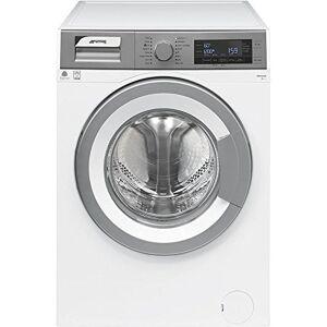 SMEG WHT812LSIT Autonome Charge avant 8kg 1200tr/min A+++ Argent, Blanc machine  laver Machines  laver (Autonome, Charge avant, Argent, Blanc, Rotatif, Gauche, LCD) - Publicité