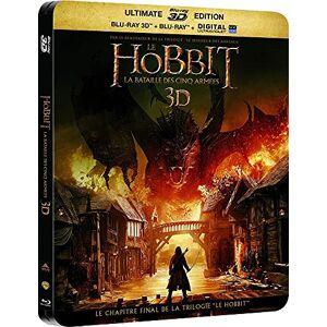 Le Hobbit : La bataille des cinq armées dition Limitée SteelBook Blu-ray 3D + 2D [Combo Blu-ray 3D + Blu-ray + Copie digitale dition botier SteelBook] - Publicité