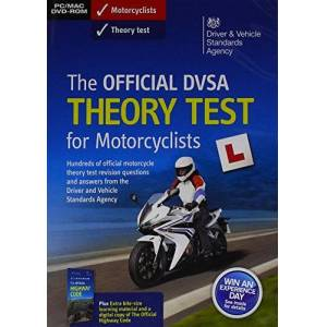 TSO The official DVSA theory test for motorcyclists DVD - Publicité