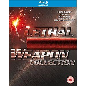 Lethal Weapon Collection 1-4 [Blu-ray] [Import anglais] - Publicité