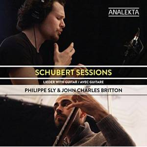 Schubert Sessions Lieder avec Guitare - Publicité