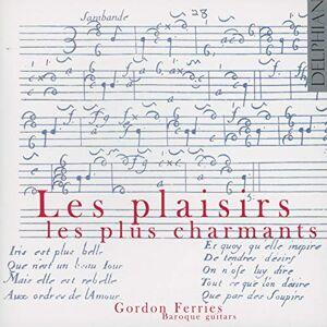 Les Plaisirs Les Plus Charmants, Oeuvres Françaises pour Guitare Baroque - Publicité