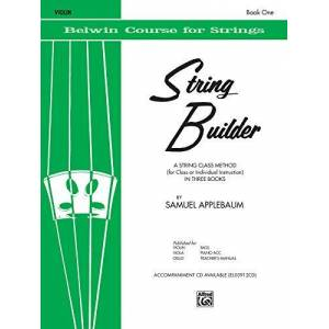 Applebaum, Samuel String Builder 1 (violin) --- Violon Applebaum, Samuel --- Alfred Publishing