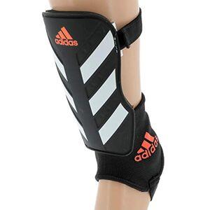 Adidas Everclub Protge-tibias de football Mixte Adulte Noir (black/White/Solar red) S - Publicité