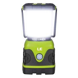 Lighting EVER LE Lanterne Camping LED, Lampe Camping Puissante 1000lm, Luminosité Réglable, Eclairage Camping Etanche, pour Camping, Bivouac, Pche, Randonnée, Cave, etc. Publicité