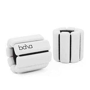 Bala Bangles Poids entièrement réglable pour poignet et cheville   Yoga, danse, barre, Pilates, cardio, aérobic, marche   0,5 kg chacun, 2 par lot., os - Publicité