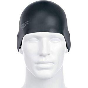 Speedo Bonnet de bain en silicone moulé, Noir, Taille unique - Publicité