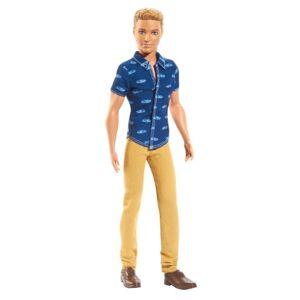 Barbie Poupée  : Ken Fashionistas : Blond - Publicité