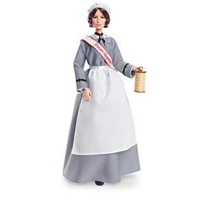 Barbie Signature Florence Nightingale, poupée de collection Femmes d'Exception, en tenue d'infirmire d'époque, jouet collector, GHT87 - Publicité