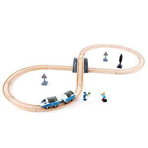 Hape E3729 Circuit de Train en Bois Circuit en 8 - Publicité