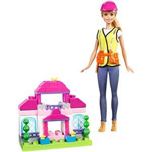 Barbie Coffret Construction poupée et briques Mega Bloks, jouet pour enfant, FCP76 - Publicité
