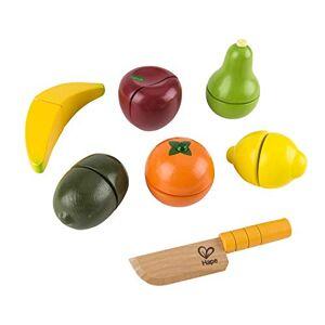 Hape E3117 Jeu d'Imitation en Bois Cuisine Fruits Frais  Découper - Publicité
