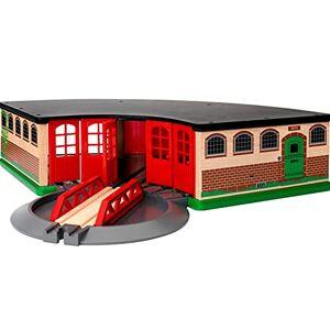 Brio 33736 Grande gare de triage Accessoire pour circuit de train en bois Action de jeu sans pile Jouet pour garons et filles ds 3 ans - Publicité