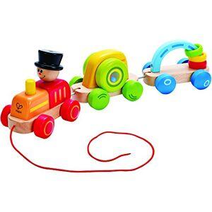 Hape E0431 Jouet  Tirer Petit Train Coloré - Publicité