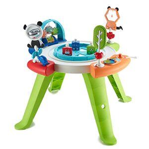 Fisher Price Mon premier sige d'activités bébé 3-en-1, transformable en table de jeux avec jouets, de la naissance aux premiers pas, GGC60 - Publicité