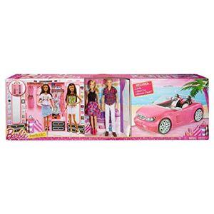 Mattel Bambola  con Ken, auto e armadio CNC16 - Publicité