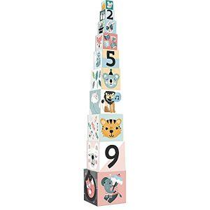 Vilac - Cubes gigognes Les Animaux Michelle Carlslund, 8501, Multicolore - Publicité