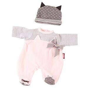 Götz 3402837 Ensemble Cosy Cat Vêtements pour poupées de T. S Set 2pièces (vêtement et Accessoire) pour poupons de 30 33cm - Publicité