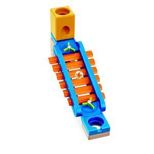 Hape --E6022-Jeux de Construction et Circuit de Billes Sonic Playground Jouets en Bois, E6022, Multicolore - Publicité
