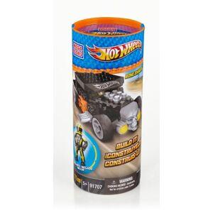 Hot Wheels Mega Bloks  Turbo Tube Bone Shaker Jaune - Publicité