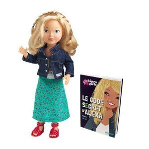 Corolle Kinra Girls V69700 Poupée Poupée Alexa et son Livre (collection 2012) - Publicité