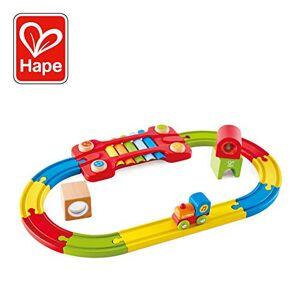 Hape - Circuit de Train sensoriel Jouet en Bois, E3822, Multicolore, Taille Unique - Publicité