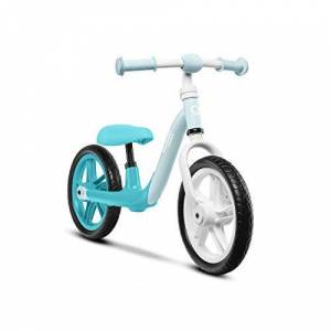 Lionelo Alex Velo Enfant vélo d'équilibre jusqu' 30 kg Grandes possibilités de réglage Roues en Mousse EVA légre Construction Durable Plaquettes antidérapantes (Turquoise) - Publicité