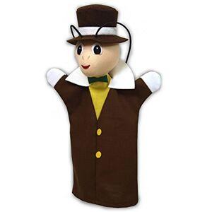 ABA 71114Cricket Marionnette, 28cm, Marron - Publicité