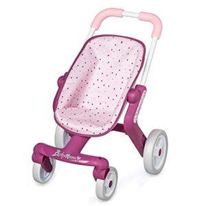 Smoby Baby Nurse Poussette Pop Pour Poupons et Poupées Roues Avant Orientables et Multidirectionnelles 251203 - Publicité