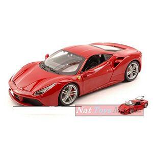 Burago BU26013R Ferrari 488 GTB 2015 Red 1:24 MODELLINO Die CAST Model Compatible avec - Publicité