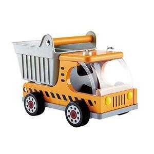 Hape E3013 Jeu d'Imitation en Bois Le Chantier Camion Big-Benne - Publicité