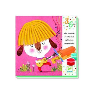 DJECO Pate A Modeler Bouclettes et Cheveux Raides Multicolore Version Espagnole - Publicité