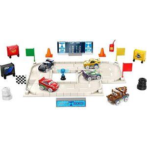 Pixar Disney  Cars Calendrier de l'avent, 5 mini-voitures, des accessoires et des surprises, pour enfants dès 3 ans, GPG11 - Publicité