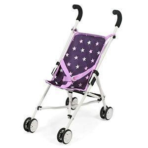 Bayer Chic Poussette-canne pour poupées Roma Mini accessoires pour poupée, stars violet - Publicité