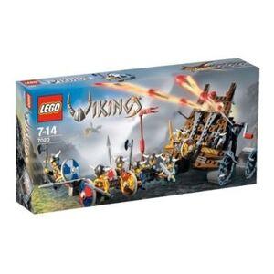 Lego - 7020 Construction Une Armée de Vikings tirant un chariot d'artillerie Lourde V29 - Publicité