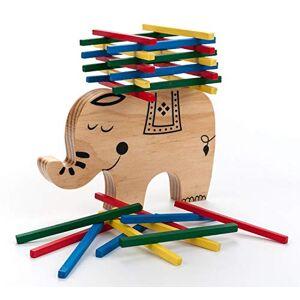 Engelhart Jeu d'équilibre et d'empilement en Bois l'éléphant 340915 - Publicité